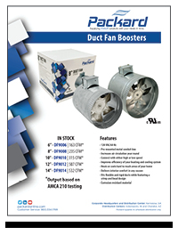 Duct Fan Boosters